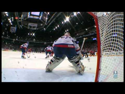 Slovakia - Czech Republic 3:1 - IIHF World Championship 2012 - Semifinal - Goals