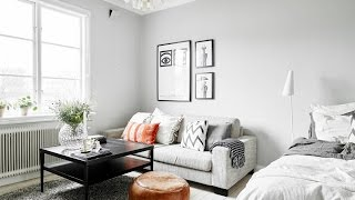 Black And White Is The Tone In This Great Nordic Home