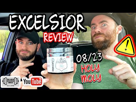 HERE TO TELL YOU THE TRUTH | EXCELSIOR PRE WORKOUT NEWEST BATCH | IMPERIAL NUTRITION 🔞