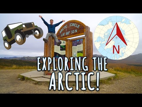 ROAD TO THE ARCTIC - We were the first to drive all the way up!