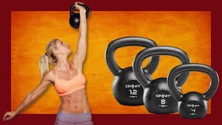 How to LOSE Back Fat | Top 4  Kettlebell Workout For Fat Loss