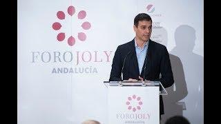 Pedro Sánchez interviene en el desayuno-coloquio del Grupo Joly