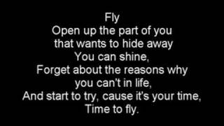 Hillary Duff - Fly with lyrics