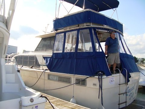 1972 CHRISCRAFT 42 COMMANDER MOTOR YACHT MAGICAL TIME