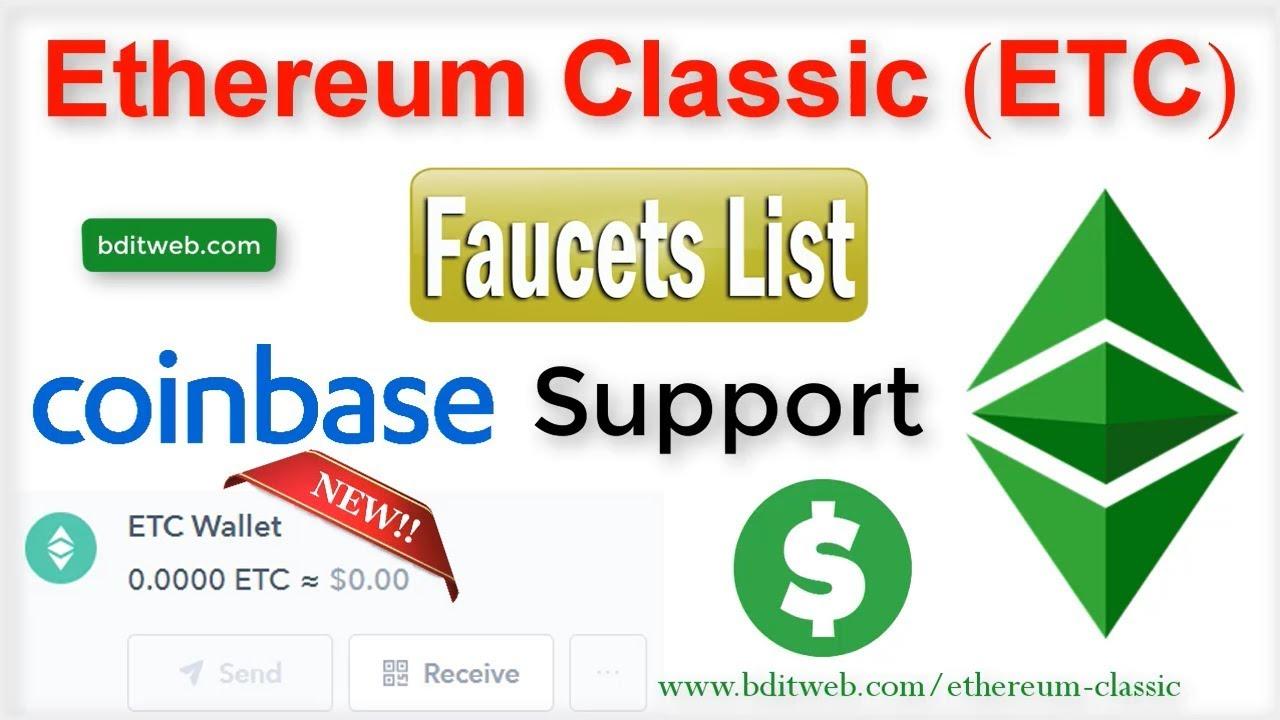 Ethereum Classic (ETC) Faucet List 2019 - Coinbase Support