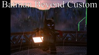How To Make Batman Beyond In Lego DC Super-Villains Custom Character