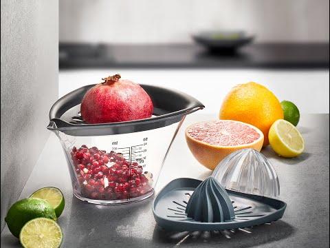 Granatapfelentkerner und Entsafter FRUTI