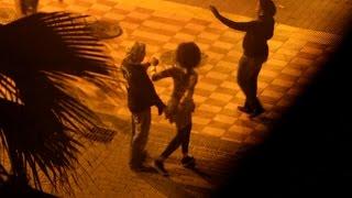 Die Klau-Huren von Mallorca - gefilmt von meinem Balkon