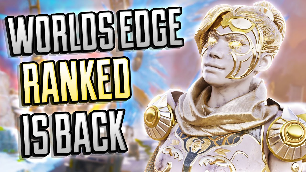 This Loadout Is THE BEST For Aggressive Players! Ranked Worlds Edge Is Back! (Apex Legends)