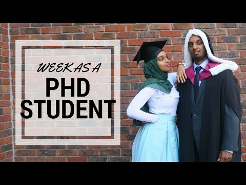 He Graduated As A Dr! | A Week As A PhD Student #7