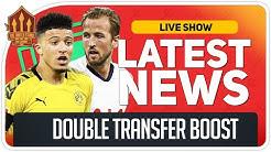 Man Utd Get Sancho & Kane Transfer Boost! Man Utd News Now