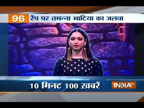 News 100 | 9th April, 2017 - India TV
