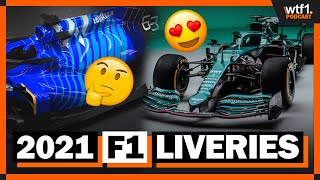 Ranking The 2021 F1 Car Liveries