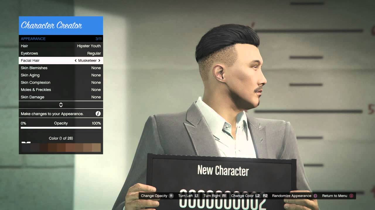 gta 5 best character creation male