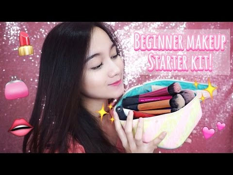 BEGINNER MAKEUP STARTER KIT (Must Haves!) [BAHASA]