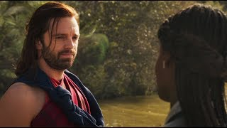 Black Panther : Bucky Thanks Shuri Scene | Marvel's Black Panther 2018