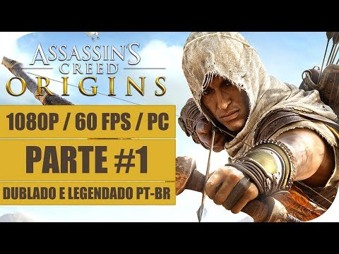 ASSASSINS CREED ORIGINS Gameplay Playthrough 1 Dublado e Legendado PT BR . Sem Comentários