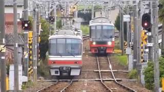 名鉄各務原線細畑駅で撮影してみた!
