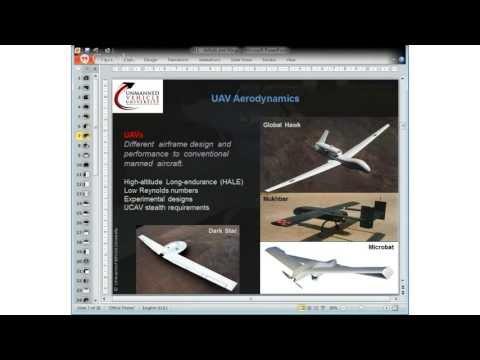 UAV Aerodynamics and Flight Stability - Hangout 1