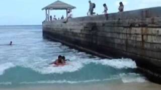 [1] Boogie boarding Bodyboarding Jumping Waikiki Smile.dk Mp3