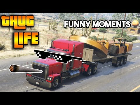 GTA 5 ONLINE : THUG LIFE AND FUNNY MOMENTS (WINS, STUNTS AND FAILS #16)