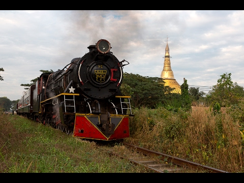 Myanmar 2017 - Steam and Pagodas
