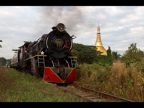 Myanmar 2017 - Steam and Pagodas