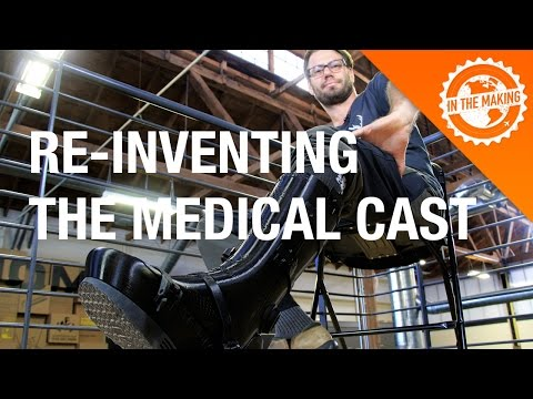 The Medical Cast Re-Invented - 3D-printed, Internet of Things