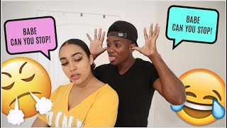 MOCKING My Girlfriend For 24 Hours Prank! *SHE WENT CRAZY*