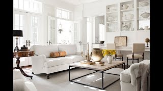 Top 40 Luxury White Home Design Ideas Tour 2018 | White Home Decor | Decorating Interior Design