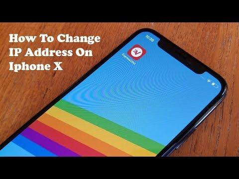 how to change my phone ip address iphone