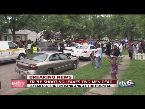 2 killed, 3-year-old wounded in shooting on Indy's east side