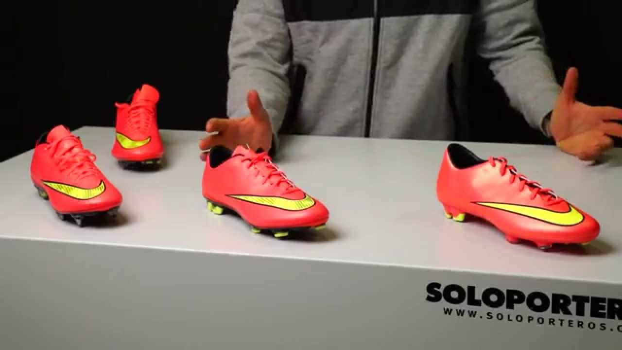 Review linea nike Mercurial X Hyper punch-Gold - YouTube cb57d1309c2f2