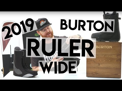 2019 Burton Ruler Wide Snowboard Boots Review