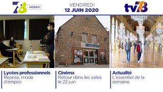 7/8 L'Hebdo. Edition du vendredi 12 juin 2020