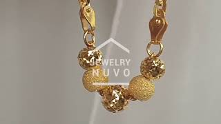 Jewelry NUVO Mirror Cutting Ball Bracelet 01