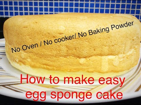How to make a victoria sponge cake without baking powder
