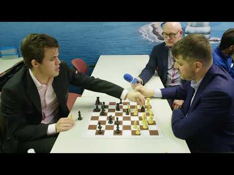 Tata Steel Chess 2018 - Analysis - Magnus Carlsen vs Peter Svidler Round 6