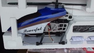 """GT QS8005 42"""" RC Helicopter Flight Test Review"""