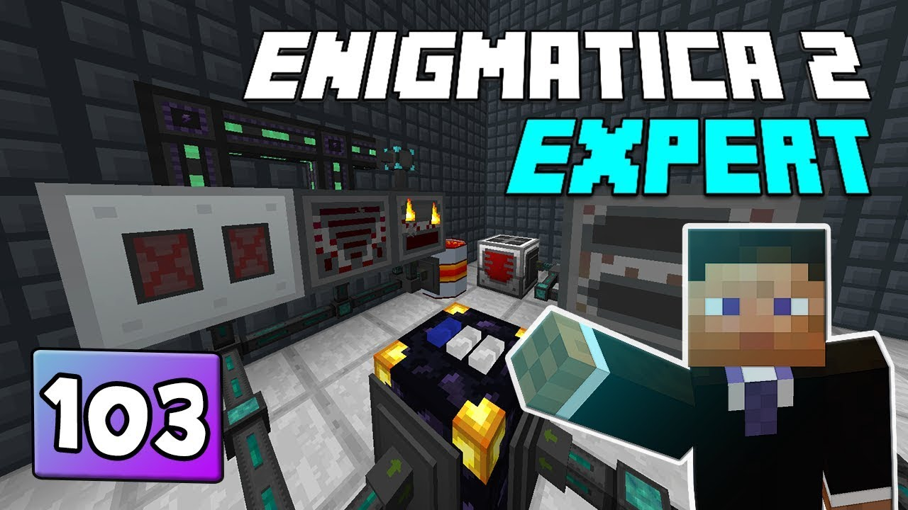 Enigmatica 2: Expert Mode - EP 103 Stocking Crafting Ingredients