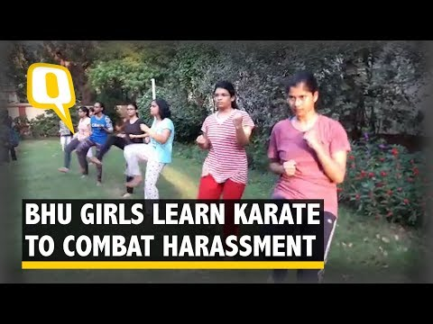 BHU Medical Students Train in Self Defence Post Harassment Incident | The Quint