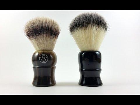whipped dog synthetic vs frank shaving pur tech synthetic shaving