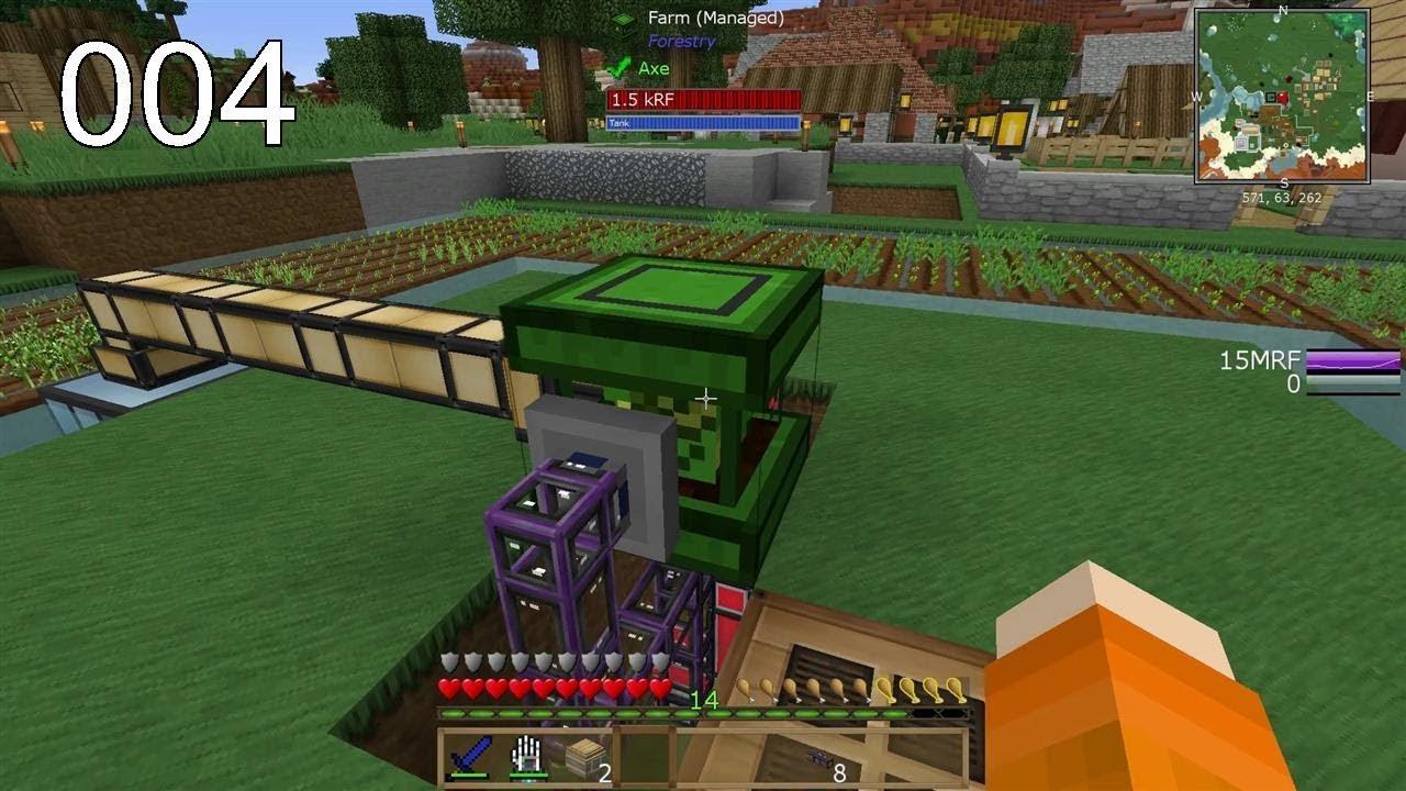 Eine riesige Farm - FTB Ultimate Reloaded
