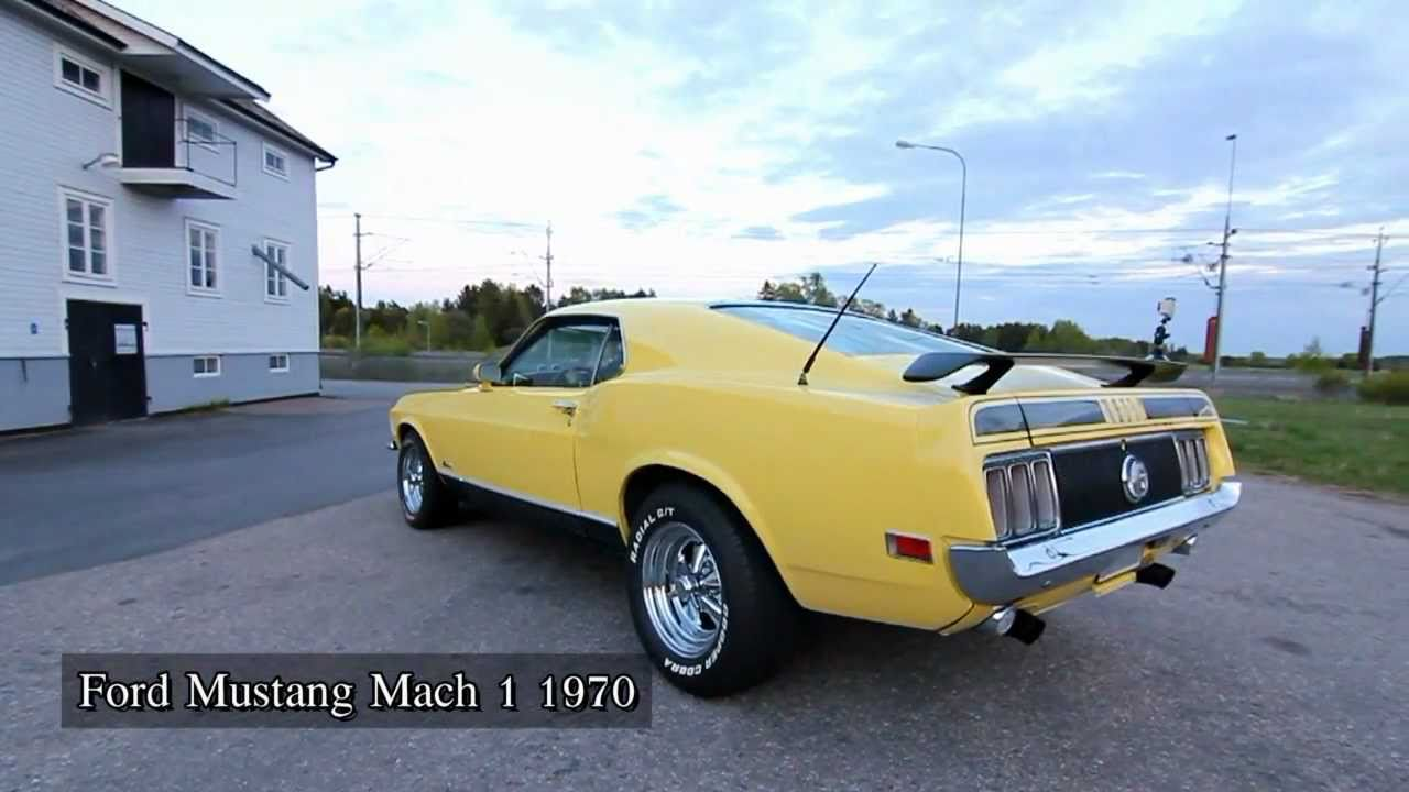 Ford mustang mach 1 1970 youtube