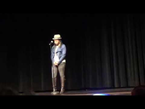 Poetry Out Loud, California || Zariah C.A.M