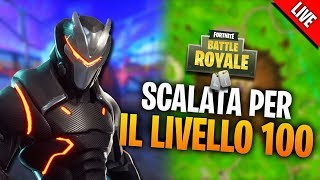 ROAD TO LEVEL 100! - NEUE PASS BATTLE SEASON 4 - LIVE FORTNITE ITA