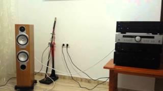 nAD C356 BEE vs Arcam A85 Diva yamaha sd-s700   monitor audio rs 6 silver