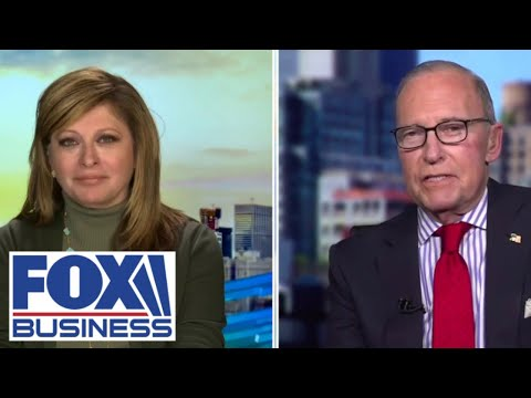 Maria Bartiromo, Larry Kudlow discuss Biden's 'war' on jobs