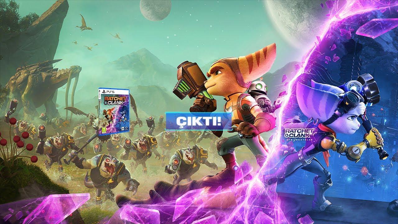 Ratchet & Clank: Ayrı Dünyalar Çıkış Fragmanı   PS5
