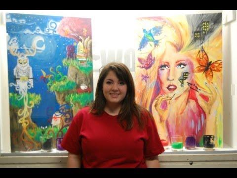 Donating Dreamscenes, Students say - Student Art Competition Final
